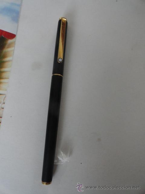 Plumas estilográficas antiguas: PLUMA MONTBLANC ORIGINAL COMO NUEVA - Foto 5 - 45118795