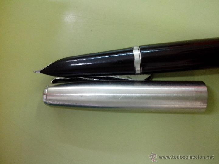 Plumas estilográficas antiguas: Pluma estilográfica Parker 21 negra - Foto 2 - 45930512