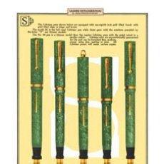 Plumas estilográficas antiguas: ESTILOGRÁFICA SHEAFFER´S. CATÁLOGO 1926. Lote 76686031