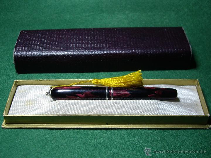 Plumas estilográficas antiguas: REGIA MINI ORO 585 - Foto 2 - 160050364