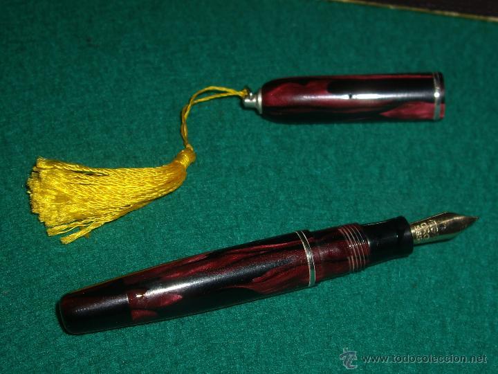 Plumas estilográficas antiguas: REGIA MINI ORO 585 - Foto 4 - 160050364