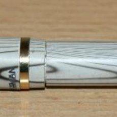 Plumas estilográficas antiguas: PLUMA ESTILOGRÁFICA - MARKSMAN - GRIS Y BLANCO. Lote 48322900