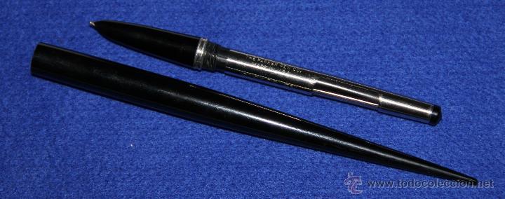 Plumas estilográficas antiguas: ANTIGUA ESTILOGRAFICA PARKER 51 DE ESCRITORIO - Foto 3 - 48360674