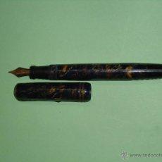 Plumas estilográficas antiguas: PLUMA ANTIGUA MARCA ATLANTICA. PLUMIN ORO 14 K.. Lote 48529793