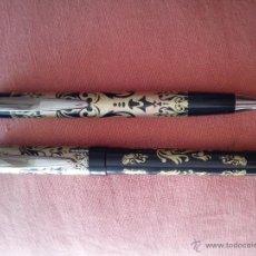 Plumas estilográficas antiguas: JUEGO DE PLUMA Y BOLÍGRAFO INOXCROM. Lote 48636858