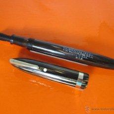 Plumas estilográficas antiguas: NN1084-PLUMA ESTILOGRAFICA-SHEAFFER VALIANT LIFETIME FEATHERTOUCH 875-C.1940-USA-GOLDEN BROWN. Lote 47243454