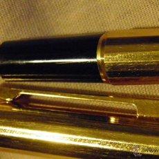 Plumas estilográficas antiguas: WATERMAN, PLAQUE ORO, PLUMIN 18 KT. BUEN ESTADO.,MADE IN FRANCE. Lote 49583894