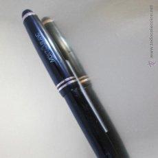Plumas de tinta permanente antigas: N982-ANTIGUA PLUMA ESTILOGRAFICA-MONTBLANC 242 G-NEGRA+ORO-1950-CAJA-VER DESCRIPCIÓN. Lote 164062485