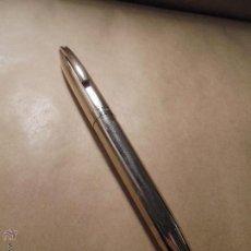 Plumas estilográficas antiguas: ANTIGUA PLUMA SHEAFFER MADE IN U.S.A. PARA ESTRENAR PLAQUE ORO PLUMIN SHEAFFER ORO 14 K. U.S.A. . Lote 50092537