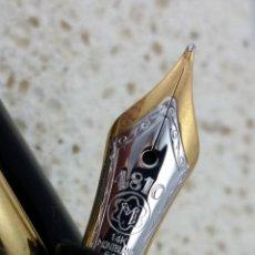 Plumas estilográficas antiguas: PLUMA ESTILOGRAFICA MONTBLANC MEISTERSTÜCK LE GRAND VIAJE M147. Lote 54498790
