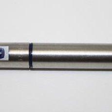Plumas estilográficas antiguas: EST 109 ESTILOGRÁFICA PARKER - ACERO - DETALLES EN RESINA AZUL - INGLATERRA. Lote 45705202