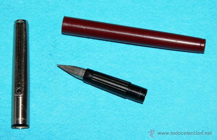 Plumas estilográficas antiguas: PLUMA ESTILOGRAFICA INOXCROM 1700 FINA - Foto 3 - 55106517