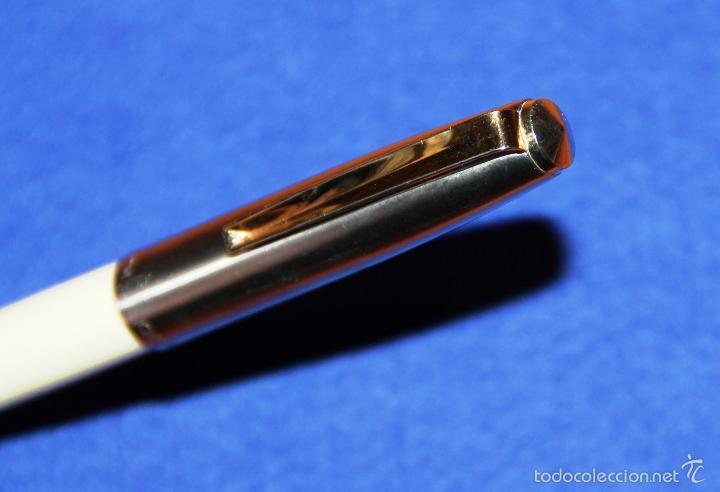 Plumas estilográficas antiguas: PLUMA ESTILOGRAFICA INOXCROM 66 ORO CLIP DORADO - Foto 5 - 55340034
