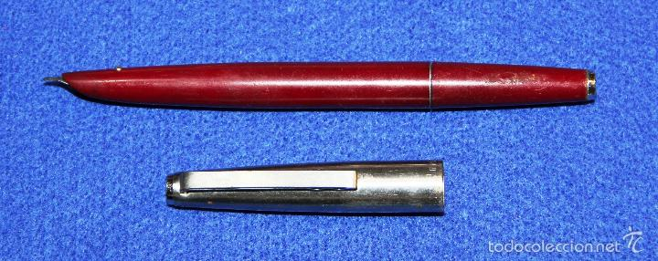 Plumas estilográficas antiguas: ANTIGUA PLUMA ESTILOGRAFICA OLIMPIA SUPER T - Foto 3 - 56007683