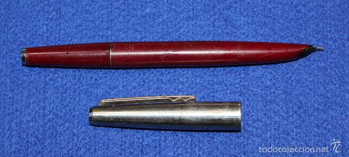 Plumas estilográficas antiguas: ANTIGUA PLUMA ESTILOGRAFICA OLIMPIA SUPER T - Foto 5 - 56007683