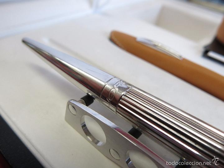 Plumas estilográficas antiguas: Jorg Hysek Meta design, estilografica y set escritorio. - Foto 12 - 56307366