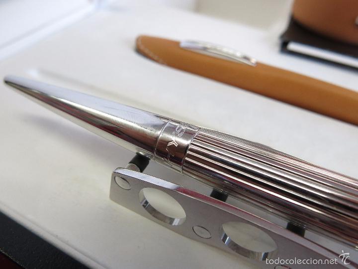 Plumas estilográficas antiguas: Jorg Hysek Meta design, estilografica y set escritorio. - Foto 13 - 56307366