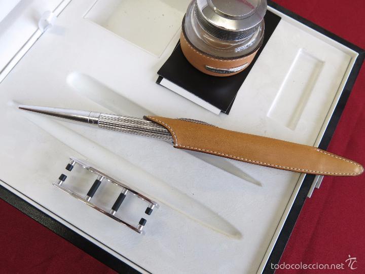 Plumas estilográficas antiguas: Jorg Hysek Meta design, estilografica y set escritorio. - Foto 16 - 56307366