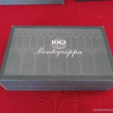 Plumas estilográficas antiguas: MONTEGRAPPA 1912 COSMOPOLITAN PLATA MACIZA. ESTILOGRAFICA, NUMERADA.. Lote 56484872