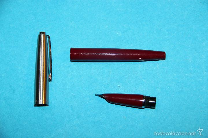 Plumas estilográficas antiguas: PLUMA ESTILOGRAFICA INOXCROM 55 - Foto 3 - 57135366
