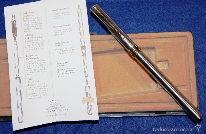 Plumas estilográficas antiguas: PLUMA ESTILOGRAFICA AURORA MARCO POLO - Foto 2 - 59436990