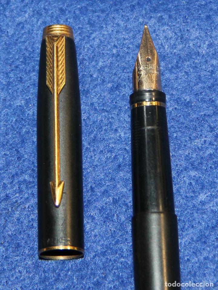 Plumas estilográficas antiguas: PLUMA ESTILOGRAFICA PARKER 35 - Foto 2 - 66249270