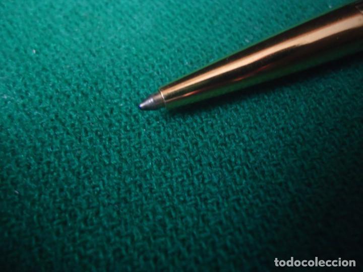 Plumas estilográficas antiguas: Juego Montblanc Pluma oro 14ct 585 ,Roller y Boligrafo. - Foto 17 - 176111239