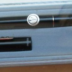 Plumas estilográficas antiguas: FOUNTAIN PEN (ESTILOGRAFICA) PAPER MATE NEGRA DE LOS AÑOS 2000 NUEVA. Lote 108396567