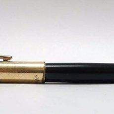 Plumas estilográficas antiguas: PLUMA ESTILOGRÁFICA SUPER T 40 PLAQUÉ DE ORO 15 MICRAS TORELLÓ ESPAÑA. Lote 71427587