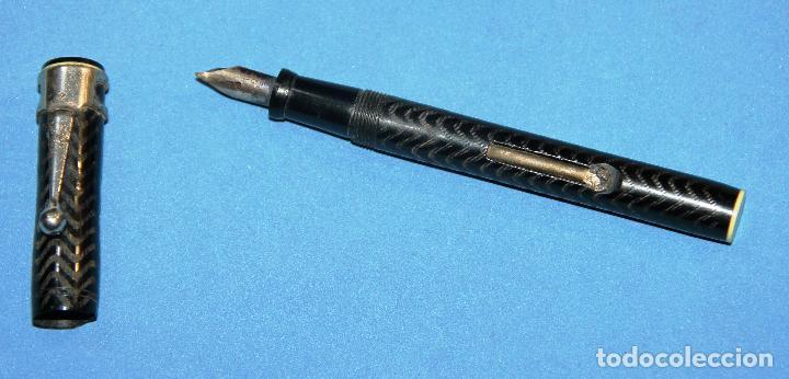 Plumas estilográficas antiguas: ANTIGUA PLUMA ESTILOGRAFICA - Foto 4 - 114499468