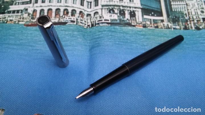 Plumas estilográficas antiguas: Parker Jotter azul oscuro - Foto 2 - 72154847