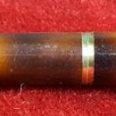 Plumas estilográficas antiguas: PLUMA ESTILOGRAFICA SHEAFER. TARGA.14 K.RESINA Y METAL CHAPADO EN ORO.USA. 1960. Lote 74030083