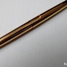 Plumas estilográficas antiguas: PELIKAN 60 DOUBLE GOLD ROLLED. NIB 18K-750, AÑOS 60. Lote 76637035
