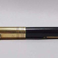 Plumas estilográficas antiguas: PLUMA ESTILOGRÁFICA WATERMAN PLAQUÉ DORADO. Lote 78974345