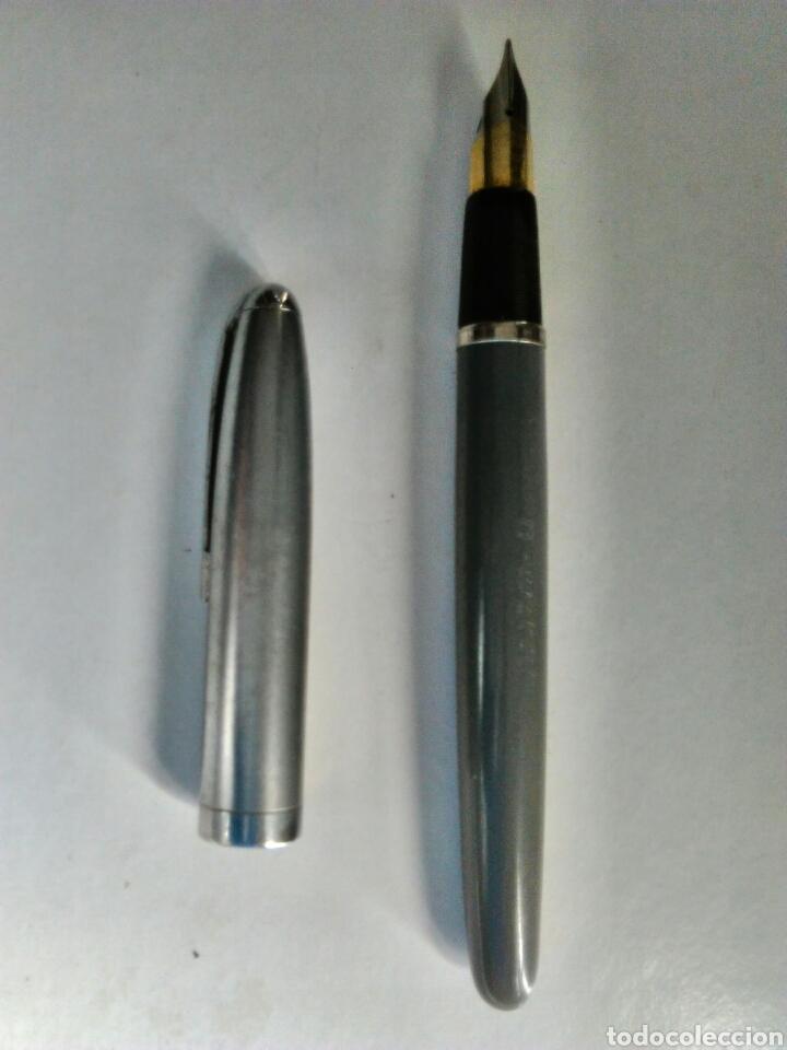 Plumas estilográficas antiguas: Estilografica Soffer, sin uso, marca capuchon y cuerpo - Foto 2 - 79099829