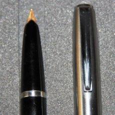 Plumas estilográficas antiguas: ANTIGUA PLUMA ESTILOGRAFICA INOXCROM 66 ORO. Lote 81364372