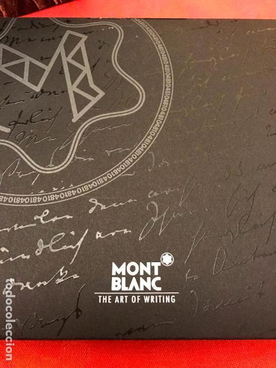 Plumas estilográficas antiguas: PLUMA MONTBLANC RAMSES II EDICIÓN ESPECIAL - Foto 6 - 83792684