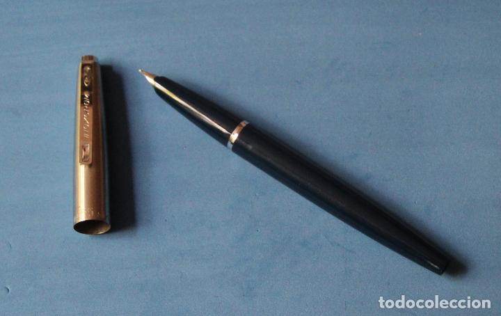 Plumas estilográficas antiguas: ANTIGUA PLUMA ESTILOGRAFICA INOXCROM 55 TRADE MARK - NUEVA - COLECCIONISTAS * - Foto 3 - 90405749