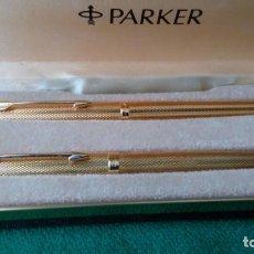 Plumas estilográficas antiguas: PARKER 180 GRAIN D'ORGE 1982. Lote 91815610