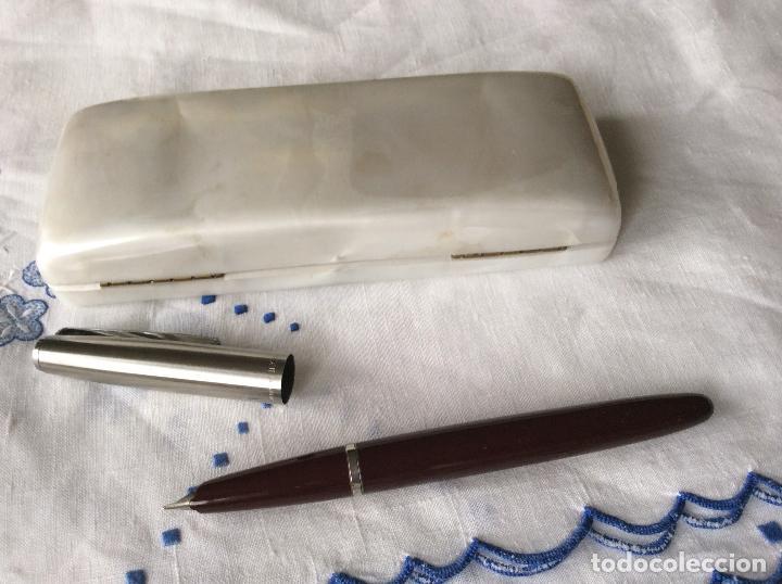 Plumas estilográficas antiguas: INOXCROM PRE 55 PLUMA ESTILOGRÁFICA CON ESTUCHE ,A ESTRENAR .IDEAL COLECCIONISTAS - Foto 5 - 92225100