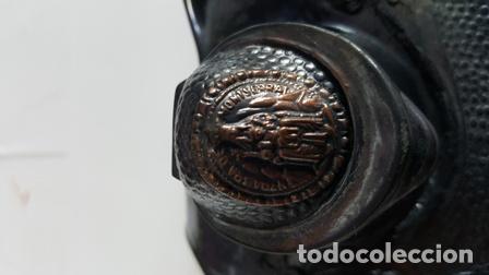 Plumas estilográficas antiguas: ANTIGUA ESCRIBANIA DOBLE TINTERO - RECUERDO DE MONTSERRAT BARCELONA ESPAÑA - - Foto 3 - 94666043