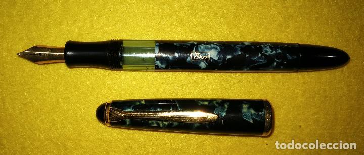Plumas estilográficas antiguas: CUATRO PLUMAS ESTILOGRAFICAS ERO - Foto 5 - 95365555
