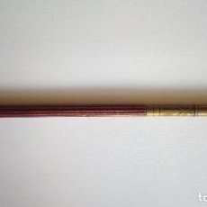 Plumas estilográficas antiguas: PLUMA PLUMIN HENRY MONT BLANC CON CUERPO DE MADERA. Lote 97335851