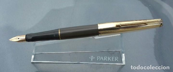 Plumas estilográficas antiguas: Parker VP 1962 14k - Foto 5 - 97478159