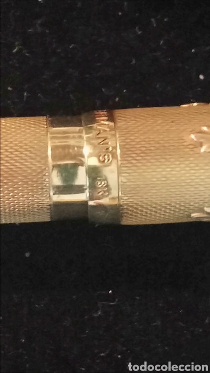Plumas estilográficas antiguas: Pluma waterman de 1920. De oro 18k - Foto 10 - 93344292