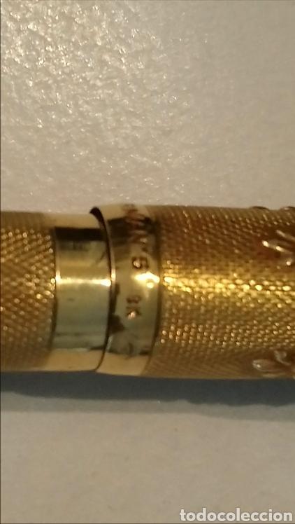 Plumas estilográficas antiguas: Pluma waterman de 1920. De oro 18k - Foto 15 - 93344292
