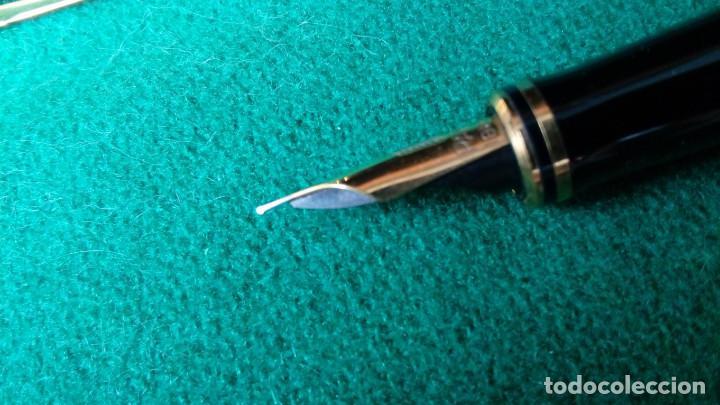 Plumas estilográficas antiguas: Parker Duofold Godron oro 18k - Foto 5 - 101152939