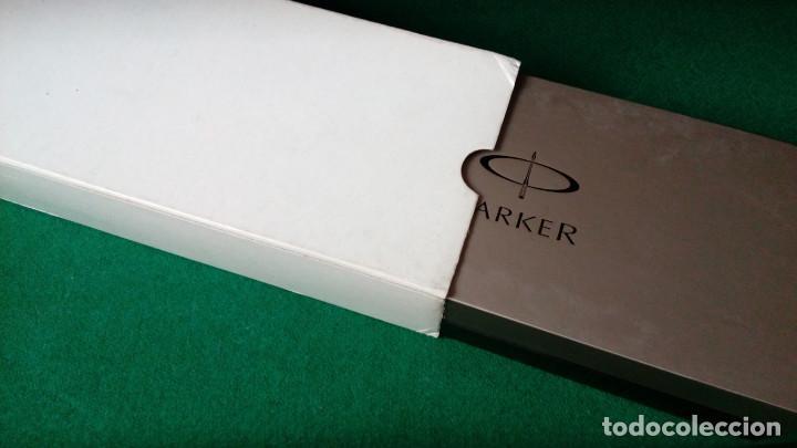 Plumas estilográficas antiguas: Parker Duofold Godron oro 18k - Foto 10 - 101152939