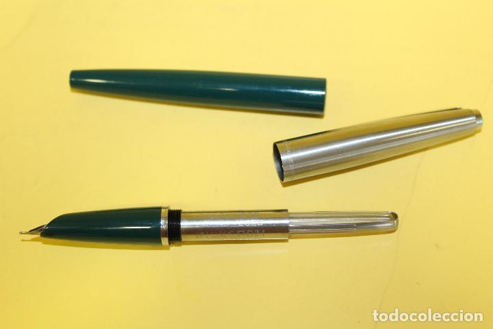 Plumas estilográficas antiguas: PLUMAS ESTILOGRAFICAS INOXCROM - NUMEROS 33 Y 55 - Foto 7 - 102011707