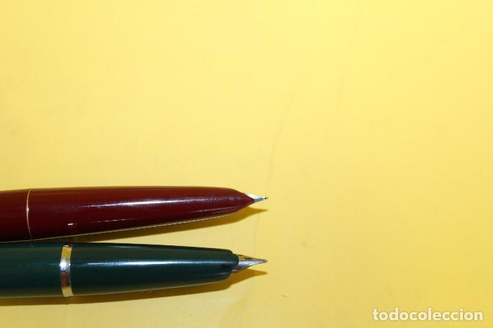 Plumas estilográficas antiguas: PLUMAS ESTILOGRAFICAS INOXCROM - NUMEROS 33 Y 55 - Foto 9 - 102011707